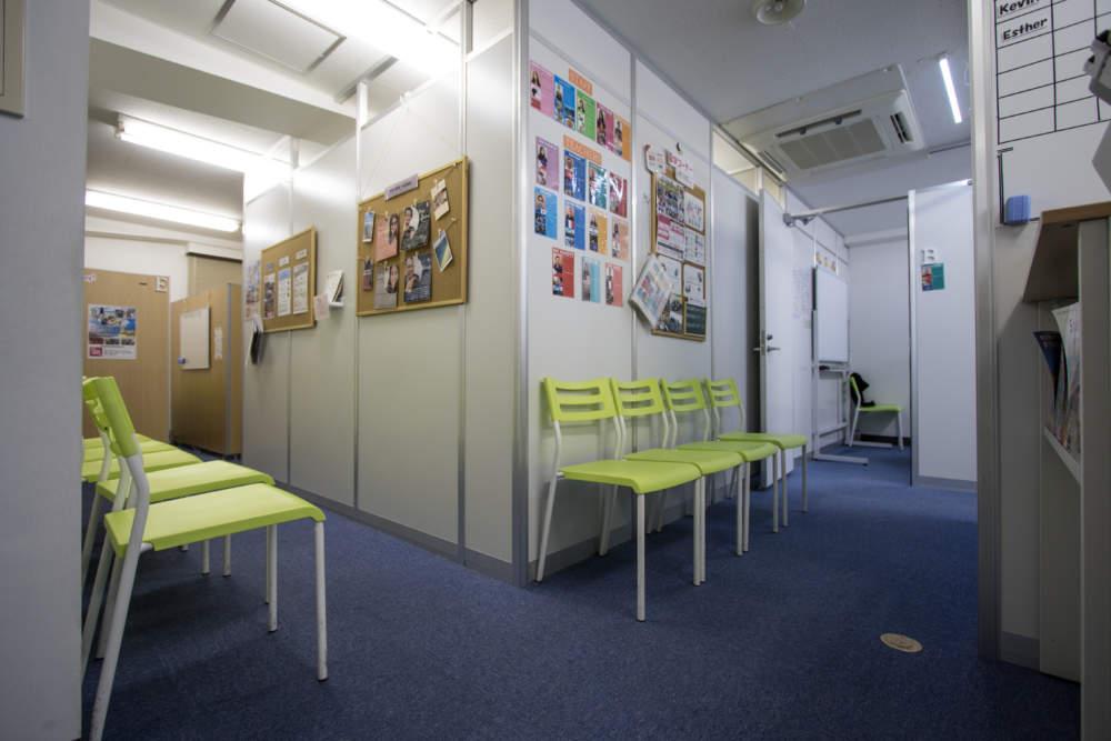 渋谷の英会話学校ワンコインイングリッシュ渋谷校待合