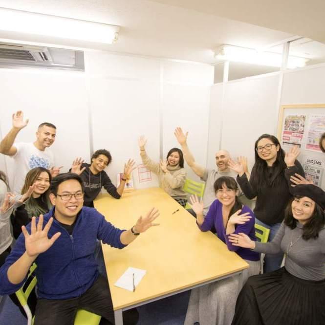 渋谷の英会話スクールワンコイングリッシュグループレッスン
