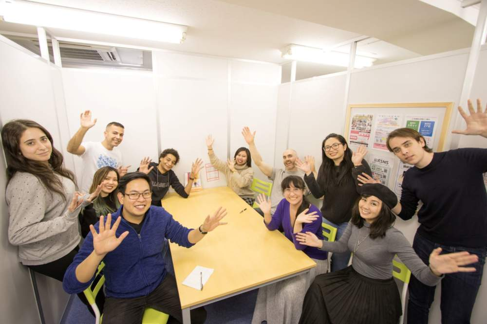 渋谷の英会話スクールワンコインイングリッシュグループレッスン