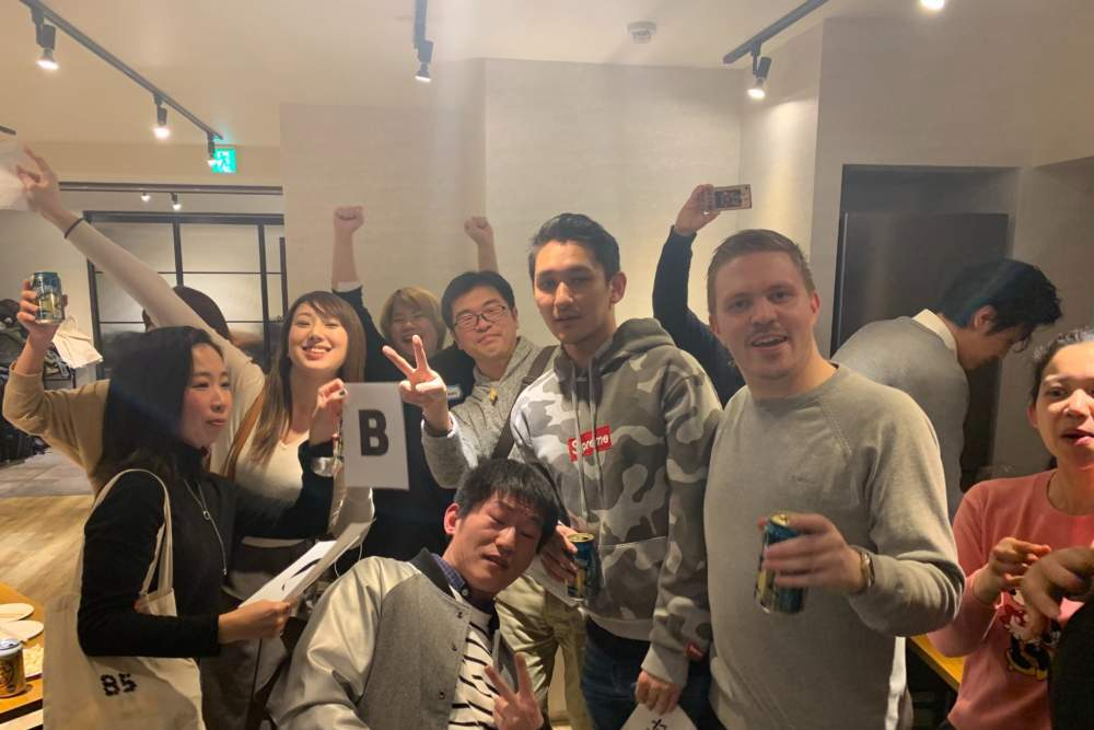 横浜の英会話スクール500円英会話ワンコインイングリッシュイベント写真