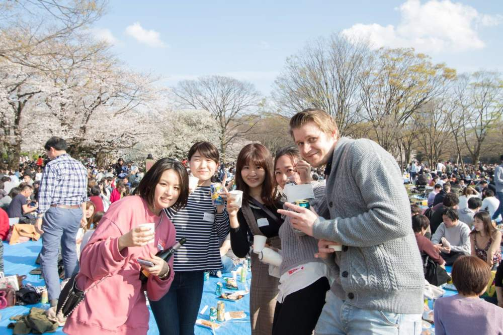 上野にある英会話スクールイベント風景