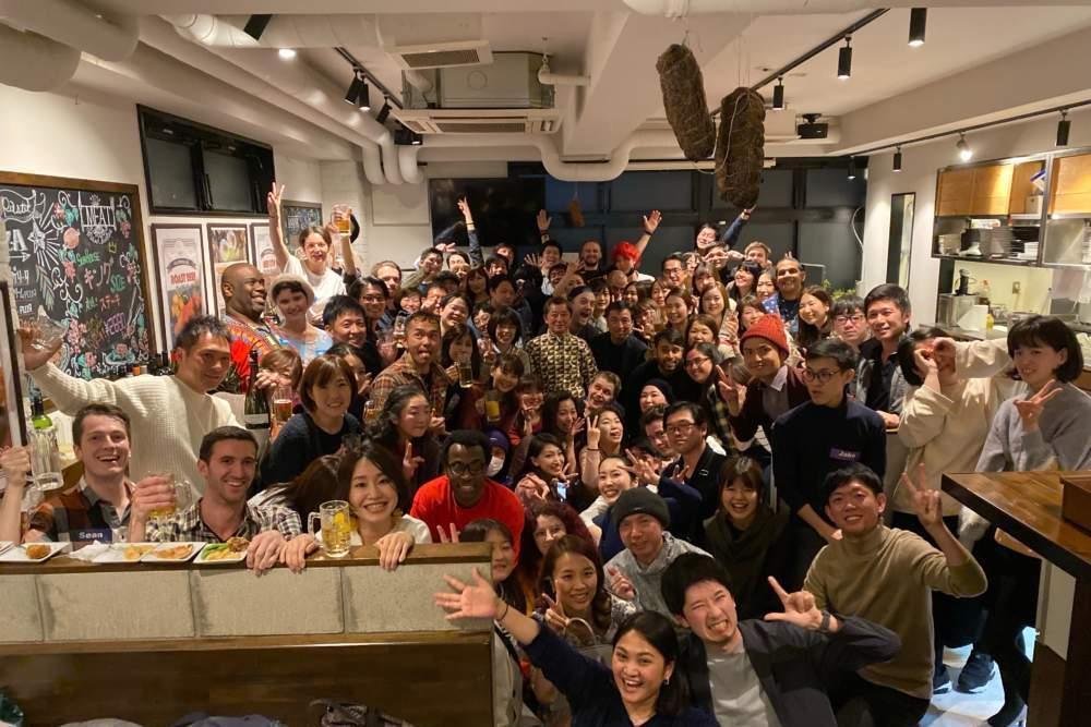 新宿にある500円英会話学校ワンコイングリッシュ新宿校イベント写真